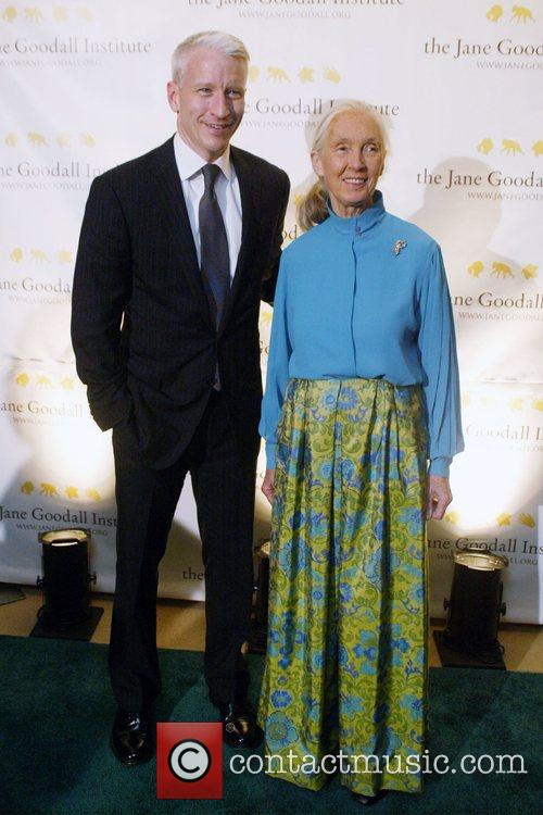 Anderson Cooper and Jane Goodall 4