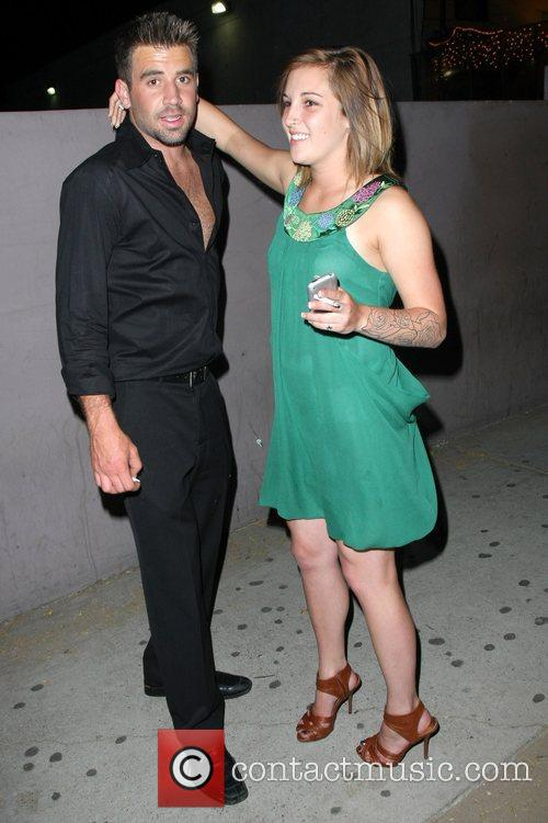 'the Hills' Star Jason Wahler Partying At The Apple Lounge With A Lady Friend 5