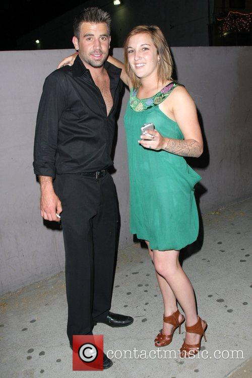 'the Hills' Star Jason Wahler Partying At The Apple Lounge With A Lady Friend 2