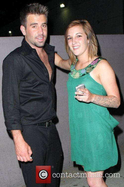 'the Hills' Star Jason Wahler Partying At The Apple Lounge With A Lady Friend 4