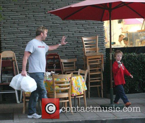 Jay Mohr and His Son Jackson 5