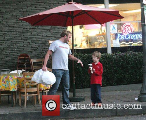 Jay Mohr and His Son Jackson 7