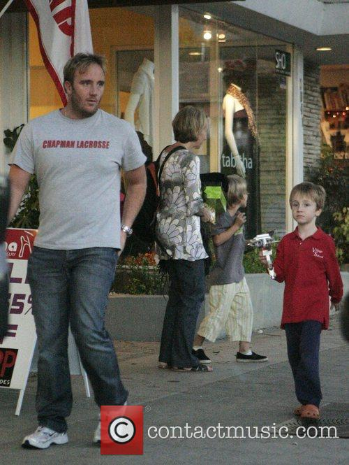 Jay Mohr and His Son Jackson 8