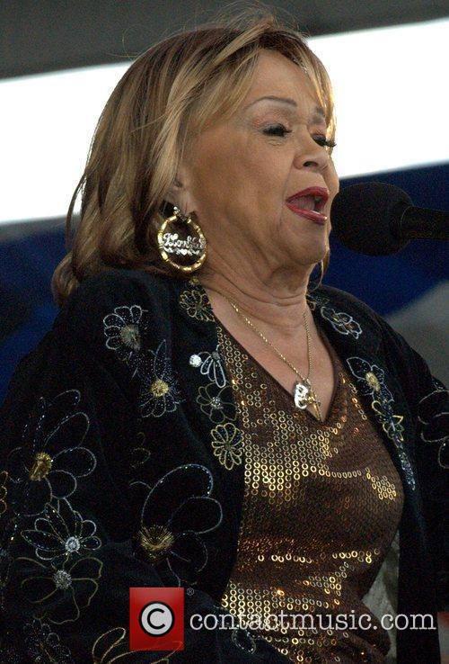 Etta James performs at the New Orleans Jazz...