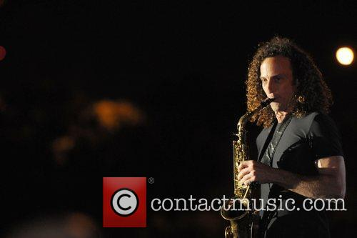 Kenny G  performing live during the 2nd...
