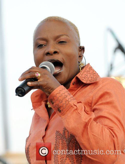 Angelique Kidjo performing live during the 2nd day...