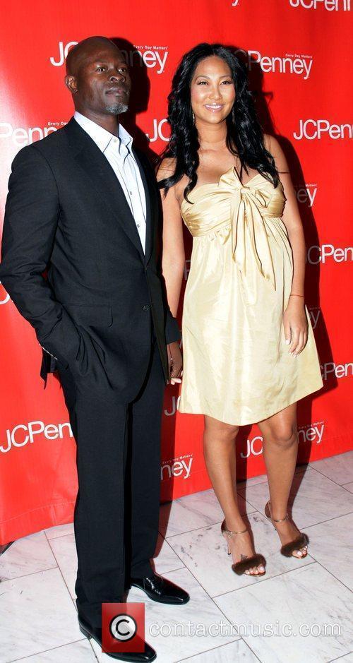 Djimon Hounsou and Kimora Lee Simmons JCPenney Presents...