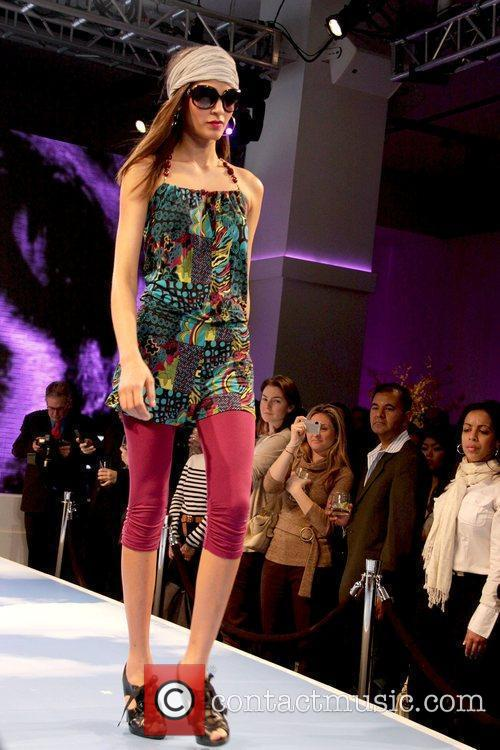 Model JCPenney Presents 'Style Your Spring' at Espace...