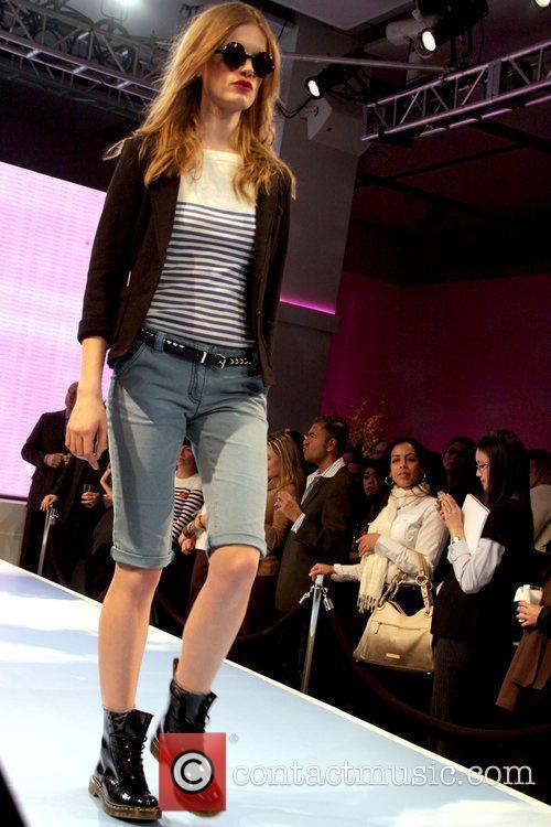 Model wearing an I Heart Ronson design JCPenney...