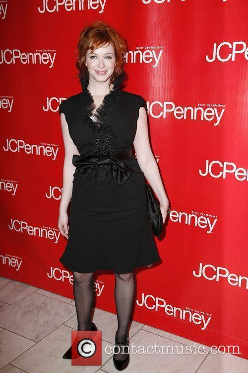 Christina Hendricks  JCPenney Presents 'Style Your Spring'...