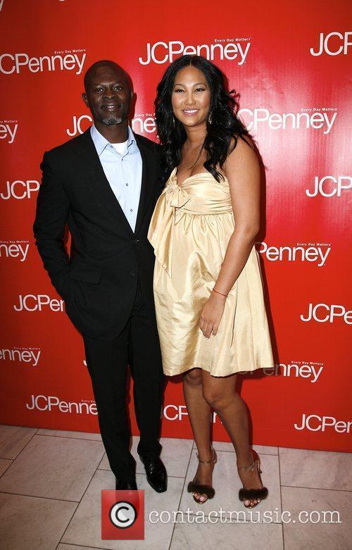 Djimon Hounsou and Kimora Lee Simons  JCPenney...