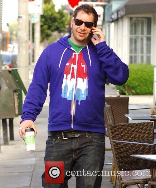 Comedian Jeffrey Ross out and about on his...