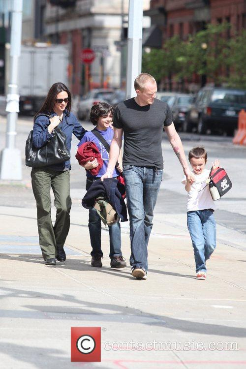Jennifer Connelly and Paul Bettany pick up their...