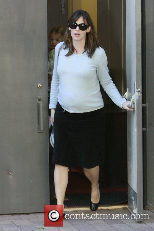 Jennifer Garner picks up her daughter, Violet Affleck,...