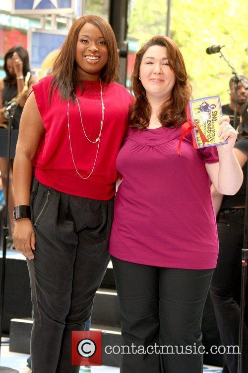 Jennifer Hudson and 'Today Show' Contest to Sing...