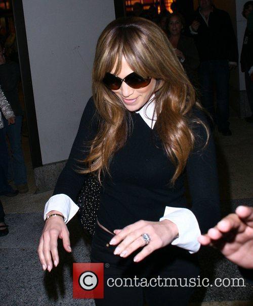 Jennifer Lopez visits 'The Lion King' on Broadway...