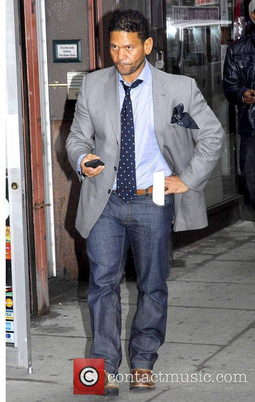 Benny Medina out and about in Manhattan New...