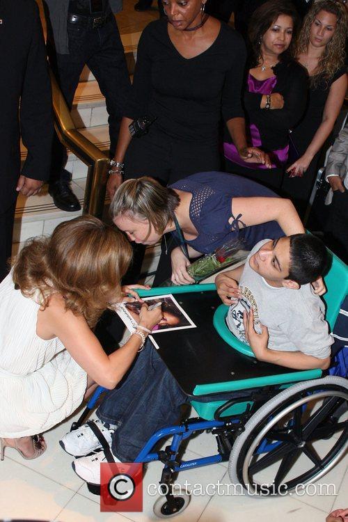 Jennifer Lopez and Fans Jennifer Lopez launches her...
