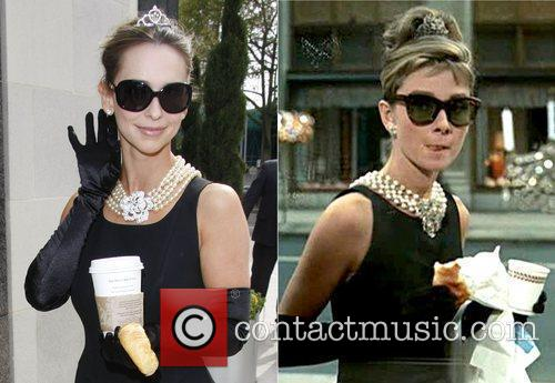 Jennifer Love Hewitt and Audrey Hepburn 4