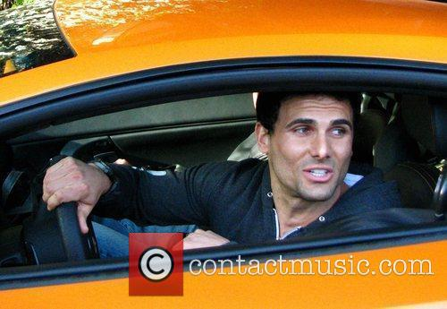 Jeremy Jackson seen driving pass the Chateau Marmont...