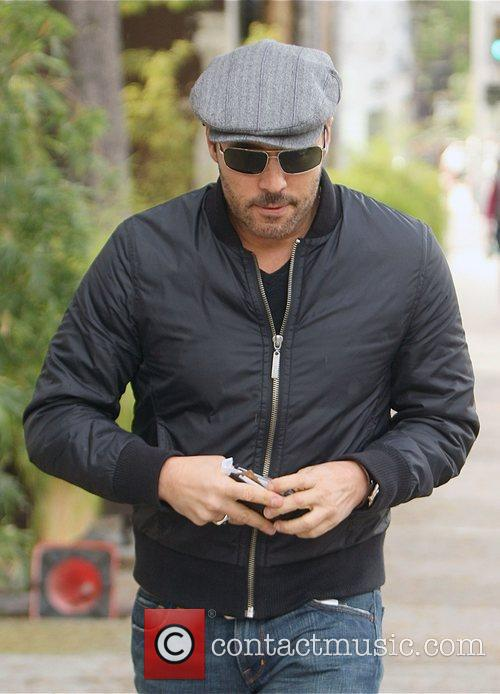 Jeremy Piven leaving Dr. Tea's in West Hollywood...