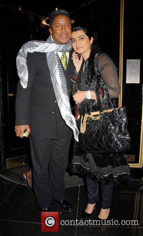 Jermaine Jackson at the Dorchester Hotel. London, England