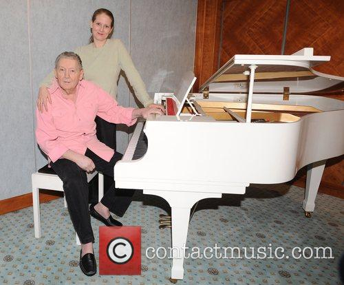 Jerry Lee Lewis and His Daughter Phoebe Lewis 8