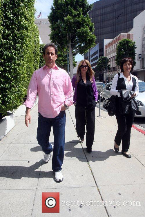 Jerry Seinfeld  was spotted leaving a medical...