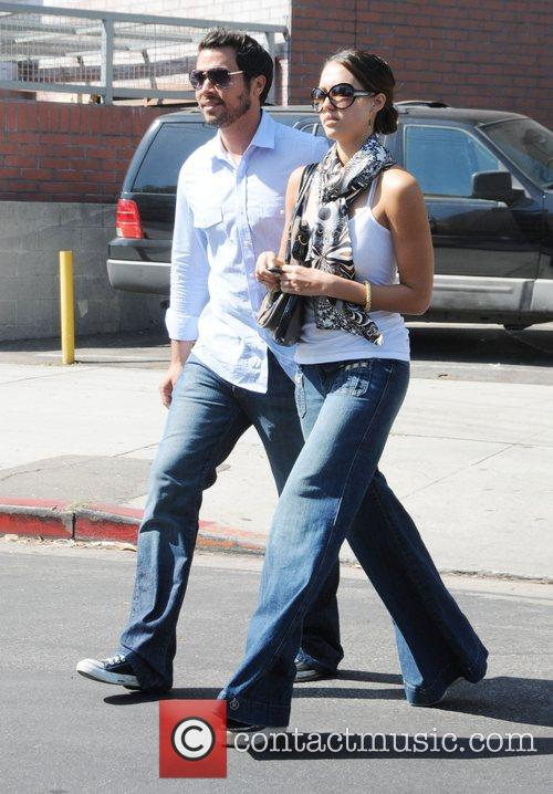 Jessica Alba and Husband Cash Warren 2