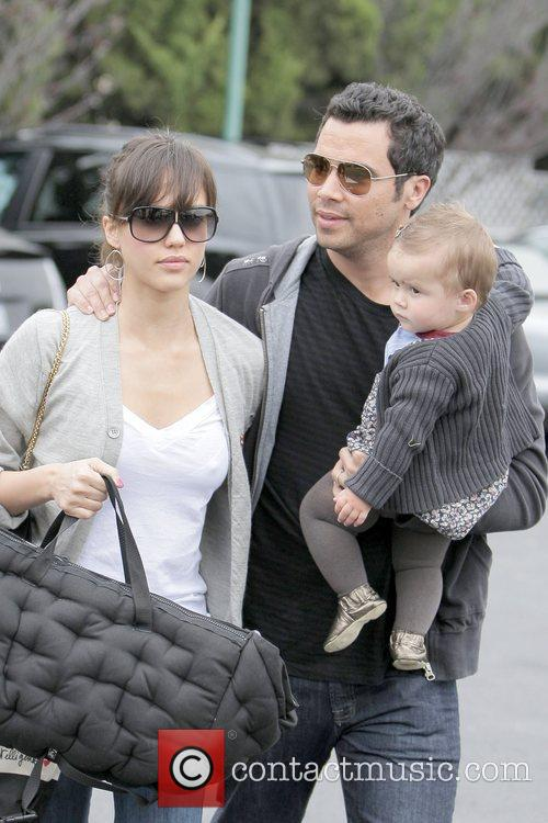 Jessica Alba, Cash Warren and Honor Marie Warren 1