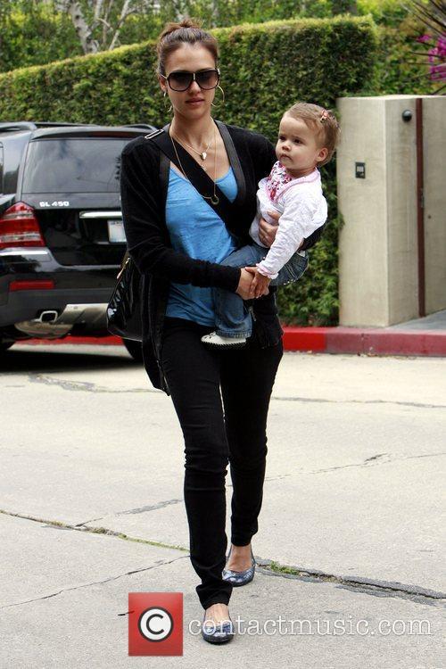Jessica Alba and her daughter Honor Marie Warren 13
