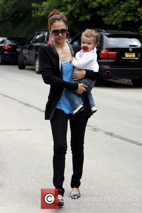Jessica Alba and Her Daughter Honor Marie Warren 10