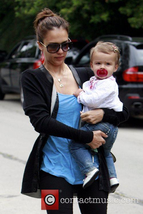 Jessica Alba and Her Daughter Honor Marie Warren 11