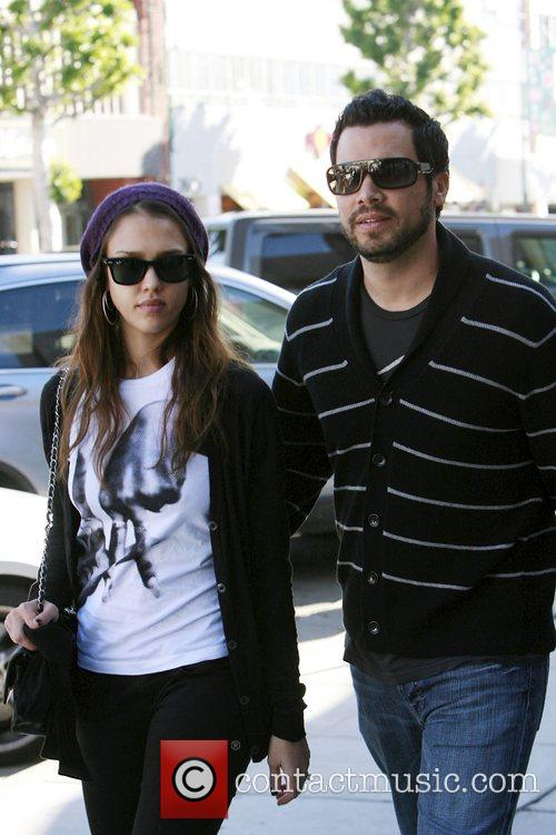 Jessica Alba and her husband Cash Warren take...