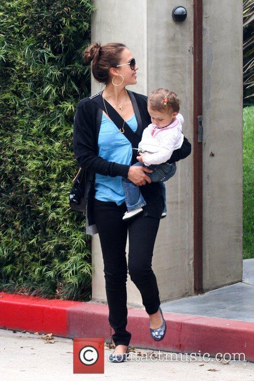 Jessica Alba and Her Daughter Honor Marie Warren 3