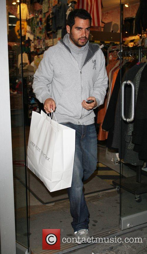 Cash Warren seen out and about shopping at...