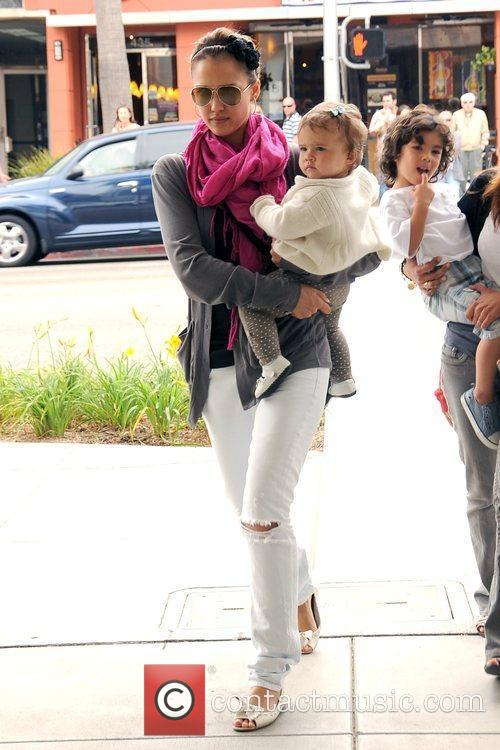 Jessica Alba and Her Daughter Honor Marie 2