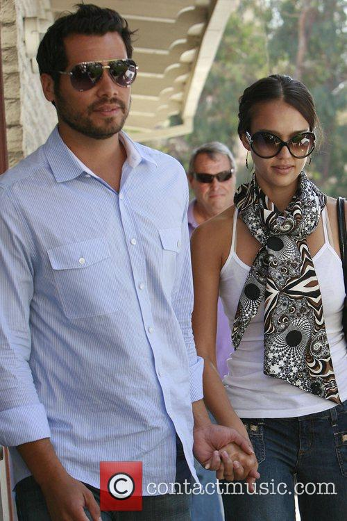 Jessica Alba and Cash Warren have lunch in Brentwood 12