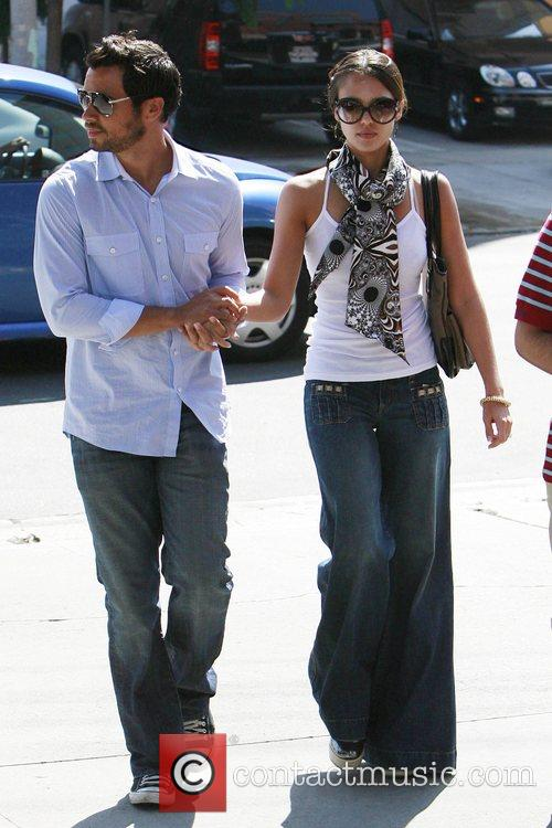 Jessica Alba and Cash Warren have lunch in Brentwood 11