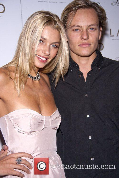 Jessica Hart and guest Sports Illustrated swimsuit model...