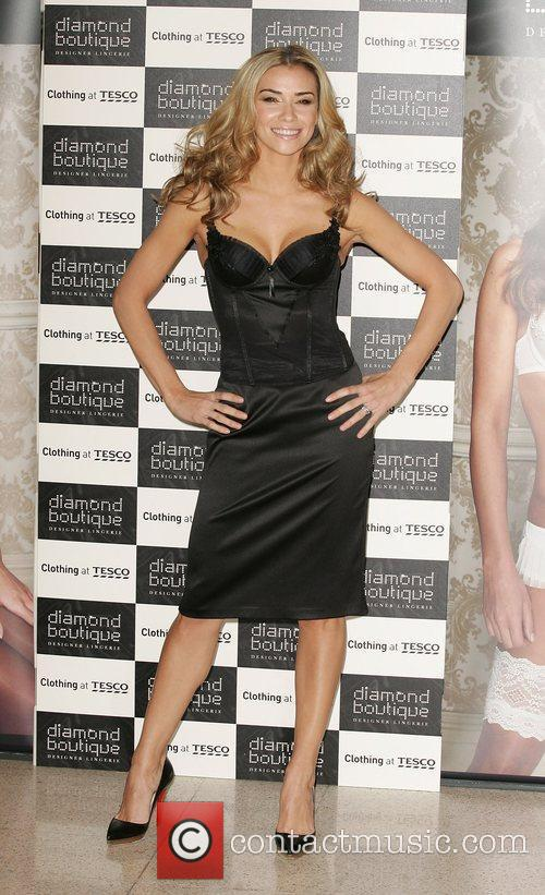 Jessica Taylor The launch of Diamond Boutique lingerie...