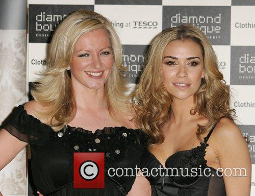 Michelle Mone and Jessica Taylor The launch of...