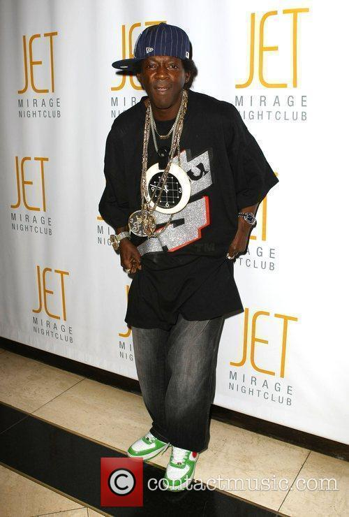 Flavor Flav celebrate his 50th birthday at JET...