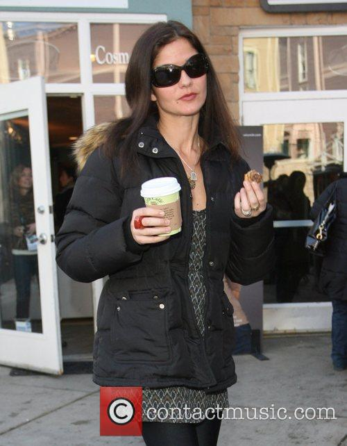 Jill Hennessy  out and about during the...