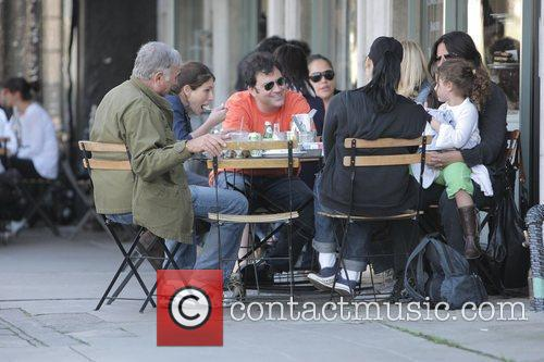 Jimmy Kimmel and Sara Silverman have lunch with...