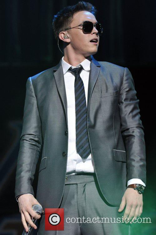 Jesse McCartney performs at Y100's Annual Jingle Ball...