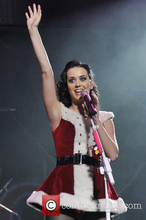 Katy Perry performs at Y100's Annual Jingle Ball...