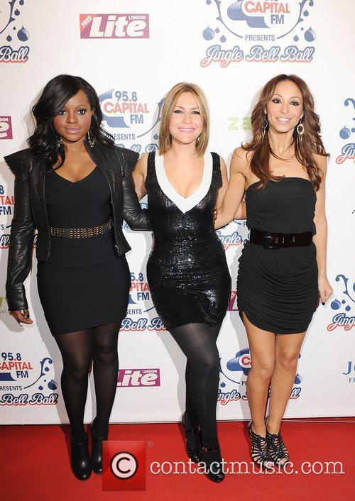 Keisha Buchanan, Amelle Berrabah and Heidi Range 2