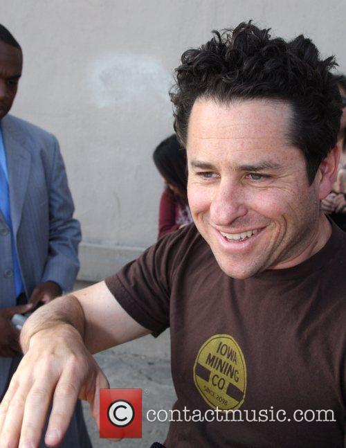 'Star Trek' director JJ Abrams signing autographs for...