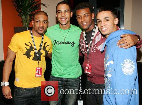 X Factor losers JLS at the o2 Dublin...